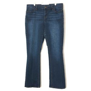Limited Jeans Mid-Rise Bootcut Indigo 14/36x31.5